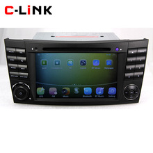 Dual Core 1024*600 Screen Android 4.4 Car PC For Mercedes-Benz W211 W219 W209 W463 With BT WIFI 3G BT RDS OBD Video Radio Player(China (Mainland))