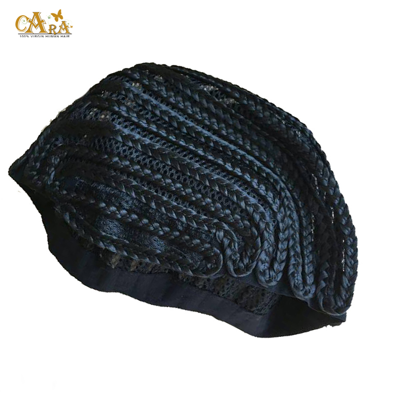 2 pcs Cornrows Cap For Easier Sew Ins Weaving Cap With Braids Wig Cap Less Stress On Your Natural Hair and Convenience of a Wig<br><br>Aliexpress