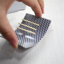 New Toothpick Match On Card Street Bar Trick Close-Up Magic Incredible Floating Card (China (Mainland))