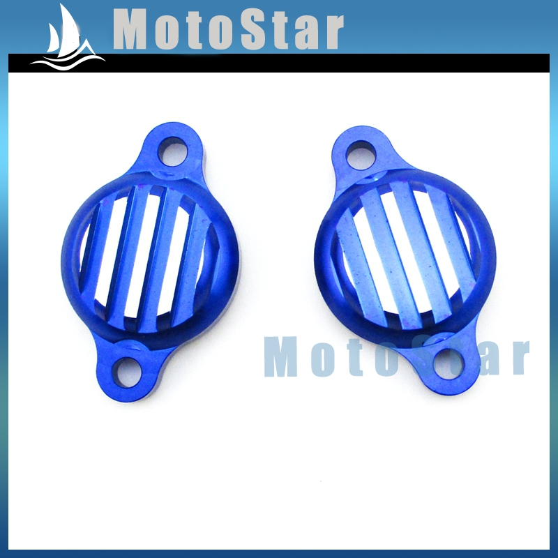 Alloy Tappet Valve Covers Caps For Lifan 125cc 140cc Engine Pit Dirt Monkey Bike Motorcycle SSR YCF YX Lifan CRF XR 50 Blue(China (Mainland))