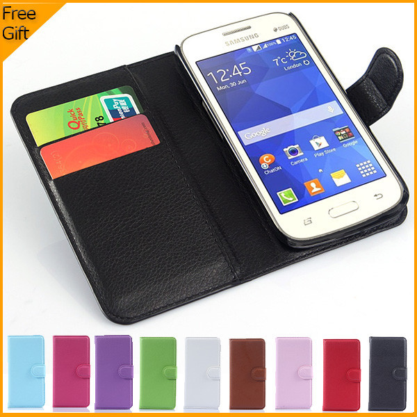 Luxury Wallet Leather Flip Cover Phone Case For Samsung ...