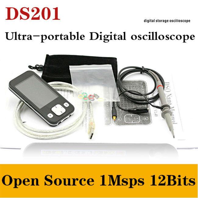 Осциллограф Sainsmart 2015 2.8 NANO DSO201 usb TFT LCD 1Msps 12Bits осциллограф siglent 8 tft lcd 70 2 sds2072 28