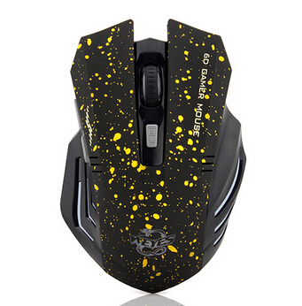 New 2014 HOT Sale Free Shipping 6Keys USB Wireless Gaming Mouse Optical Computer Game Mouse 2