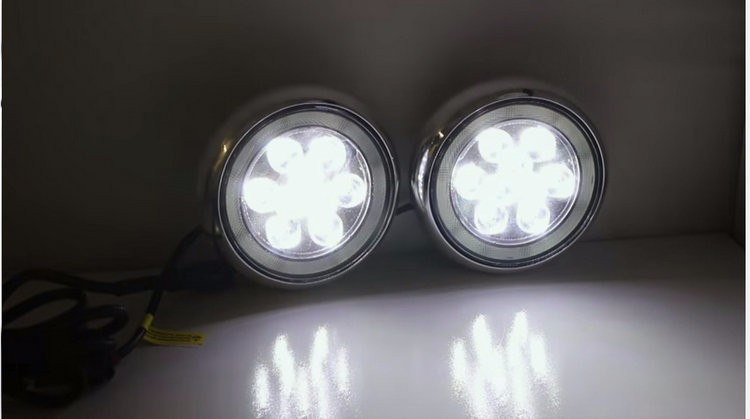 L M Mini Cooper Led Rally Driving Drl Halo Ring Angel