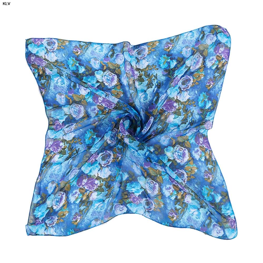 2016 hot sale Women Printing Pattern Square Scarf Head Wrap Kerchief Neck Shawl wholesale price(China (Mainland))