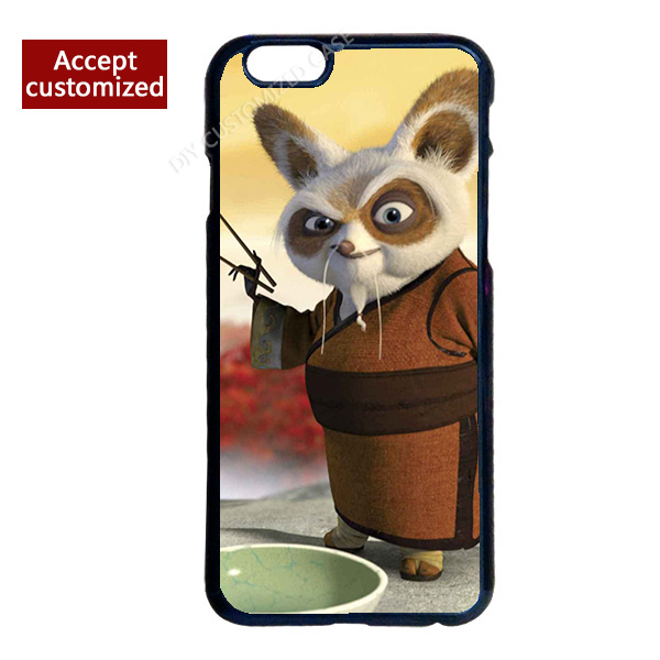 Kung Fu Panda Mobile Phone Cover Case for iPhone 4 4S 5 5S 5C 6 6S 7 Plus iPod Touch 4 5 6 LG G2 G3 G4(China (Mainland))