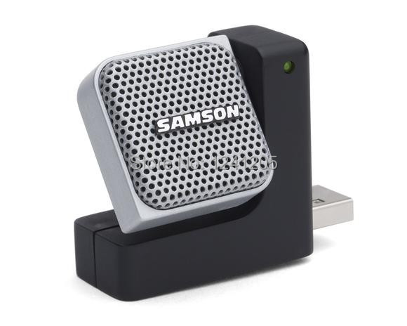 Original SAMSON Go Mic Direct Portable USB Microphone with Noise Cancellation Technology use for Skype, FaceTime, podcasts ect.(China (Mainland))