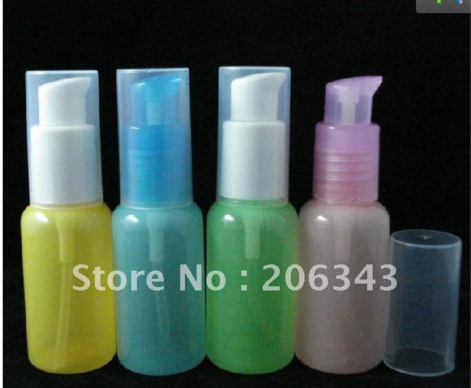 30ml pet colorful bird mounth lotion bottle or shampoo bird mouth shape bottle used for cosmetic(China (Mainland))