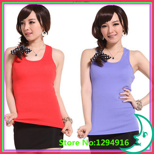 Summer hot selling shapers body women cotton shirt women's cheap sarafan tank Tops Candy color sport plus size corsets Vest - Fashion Zoon No.1 store