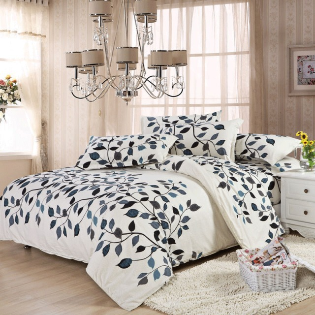 Buy 4PCS Full Twin Bedding Set Duvet