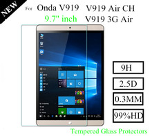 Anti-Shatter V919 Air 3G Tempered Glass Protector For Onda V919 Air CH Glass Protect Films V919 Screen Protector
