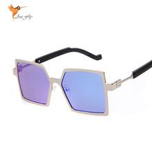 Steampunk Brand Designer Sunglasses Women Men Pentagon Sun Glasses Special Legs Goggles 2016 Fashin Eyewares AN1621