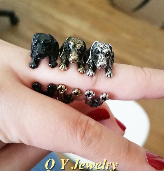 Sausage Finger Rings