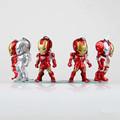 6pcs Set Iron Man 3 Marvel The Avengers MK42 1 2 3 War Mechine Egg Attack