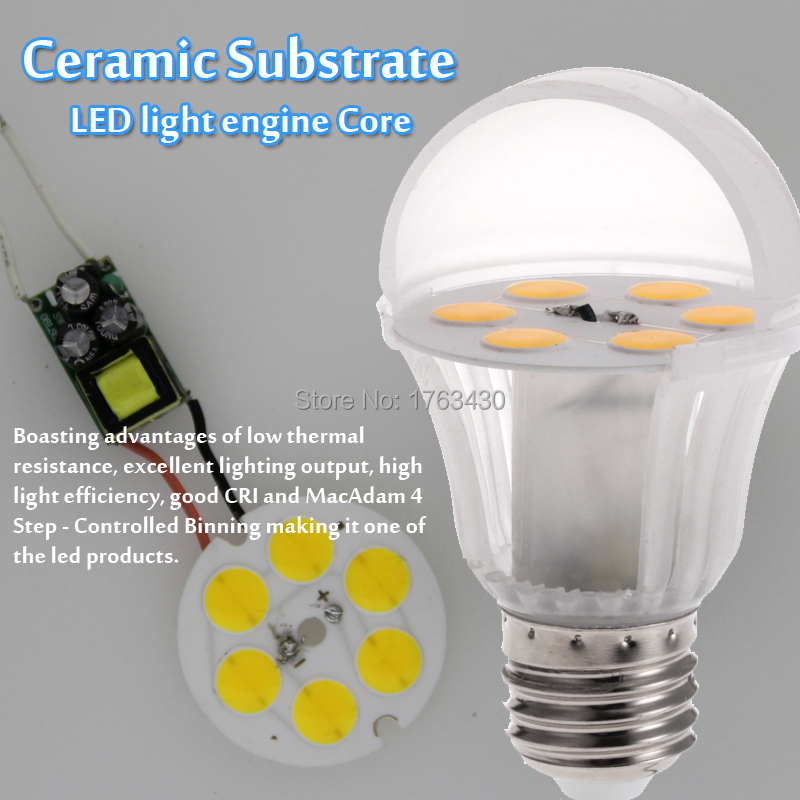 Best Prices Led Light Bulb E27 7w 700 Lumen Warmwhite Ra 80 A 60w Ceramic Substrate Led