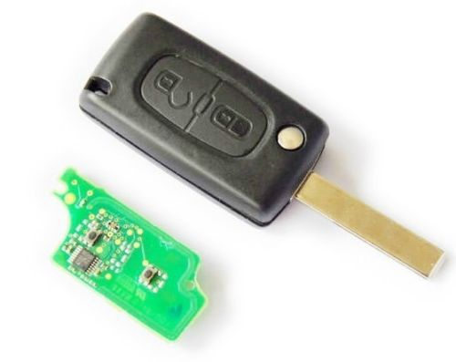 Brand New Folding Flip Remote Key 2 BTN for Peugeot 307 433MHZ ID46 Chip 0536 models up to 20110416(China (Mainland))