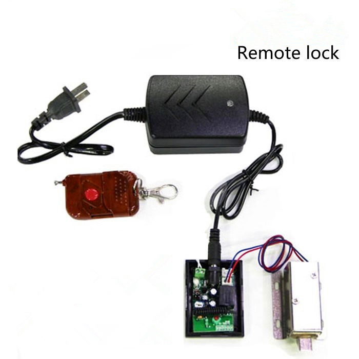 Access Control Lock Small Electric Cabinet Drawer Locks for Cabinet Door with Remote and Power Supply(China (Mainland))