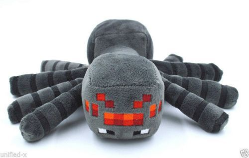 Good Quality 1PCS Cute Minecraft Animal Patterns Plush Soft Toy Stuffed Doll Kids Gift Spider 17cm 78634 christmas gift(China (Mainland))