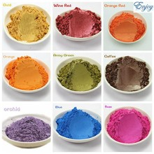 100g Pearlescent Colorful Pearl Powder Pigment for Eye shadow Nail Polish Mica Glitter Powder Cosmetic Flash Dust(China (Mainland))