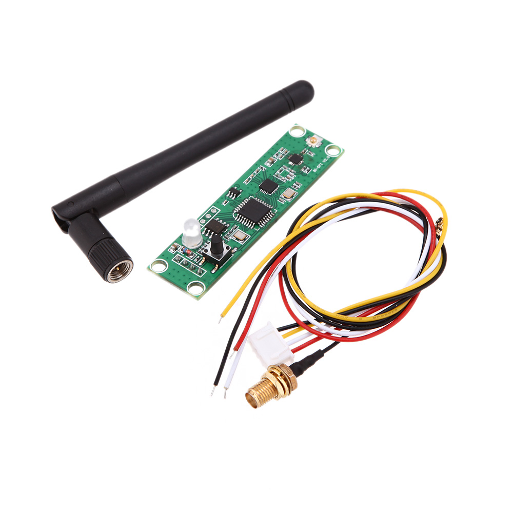 Durable 2.4G DMX512 Wireless Led Stage Light PCB Modules Board with Antenna LED wireless Transceiver DJ controller(China (Mainland))