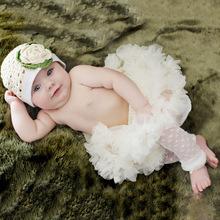 beautiful newborn baby skirt baby girls chiffon fluffy pettiskirts tutu princess party ball gown skirt for kids(China (Mainland))