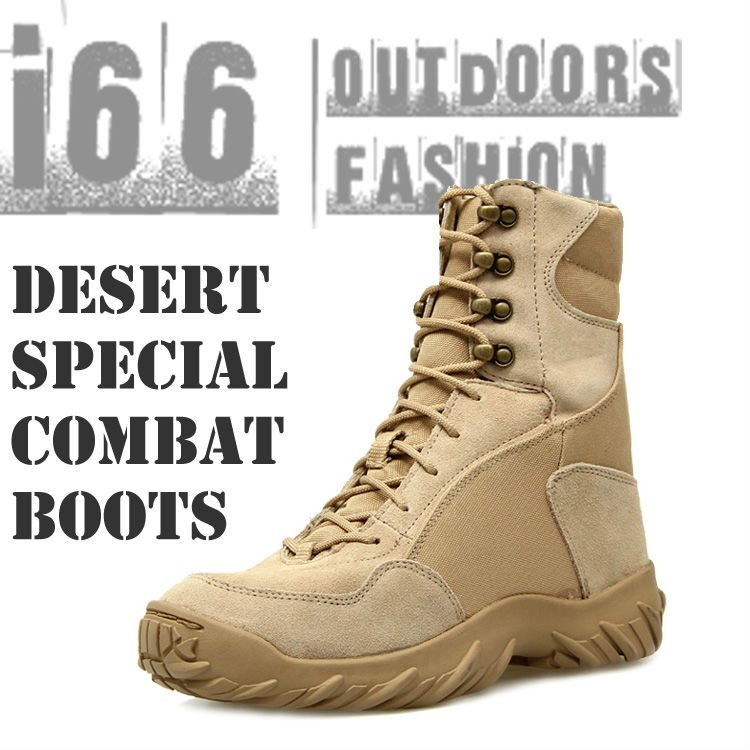 USMC Army Military Special Desert Combat Tactical Boots Safety Genuine Mountain boots U.S. SIZE:7~11.5(CB-12002) - i66 Outdoors & Fashion Co,.Ltd store