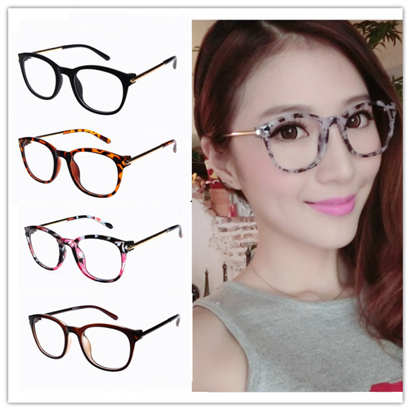 Reading glasses frames Women Students Office Lady Retro literary style Decorative - I LOVE CHINESE BOUTIQUE store