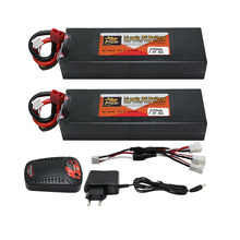 Buy 2pcs Original High Power 7.4V 5200mAh 40C 2S Lipo RC Battery Deans Plug + charger Li-polymer RC Helicopter for $54.86 in AliExpress store