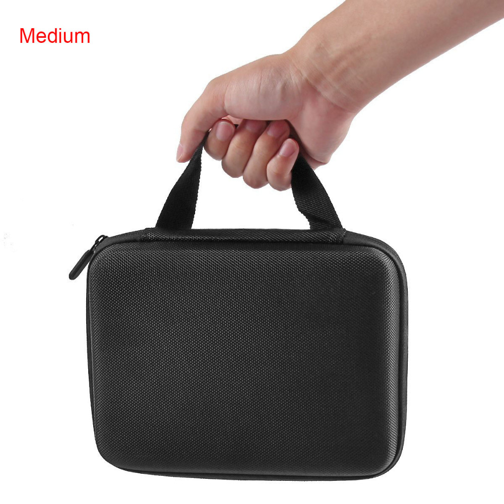Go pro Medium Size New Travel Storage Collection Bag Case for GoPro Hero 4/3+/3/2 SJ4000/SJ5000 Action Camera Accessories(China (Mainland))
