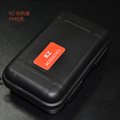 2016 Newest KZ Waterproof Earphone Bag Case Box Protective Case Portable Storage Bag Headphone Box For
