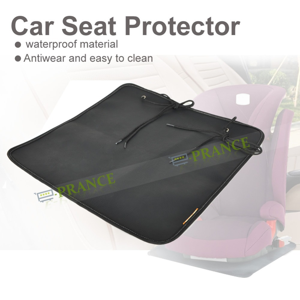 free shipping 1pc pu leather car seat cover protector auto back seat cover kick mat for baby. Black Bedroom Furniture Sets. Home Design Ideas