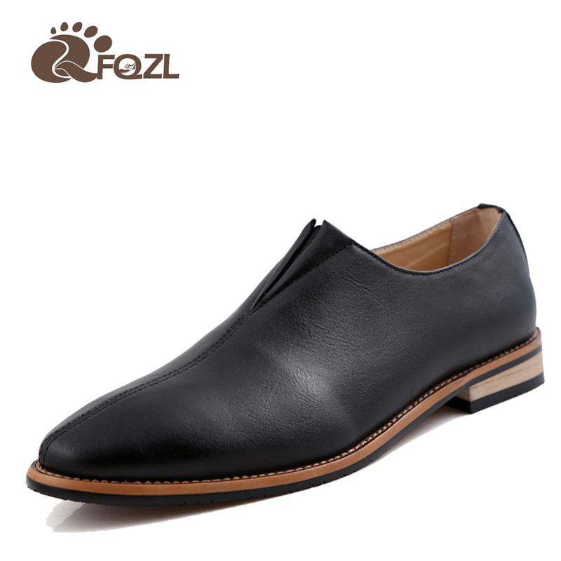 Fashion Brand Formal Men Shoes 2016 Oxford Shoes For Men Flats Leather Moccasin Flats Men Shoes Formal Shoes Men Moccasin(China (Mainland))