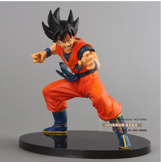 High quality - Original edition 15CM dragon ball z action figures Sun Goku Version PVC Collectible Toy model for Birthday Gift(China (Mainland))