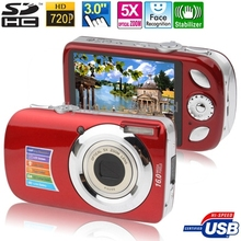 A620 Red, 5.0 Mega Pixels 5X Zoom Digital Camera with 3.0 inch TFT LCD Screen, Support SD Card , Max pixels:16 MP(Interpolation)