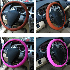 Car-styling Silicone Steering Wheel Skin Cover For Lexus ES250 RX350 330 ES240 GS460 CT200H CT DS LX LS IS ES RX GS GX-Series(China (Mainland))