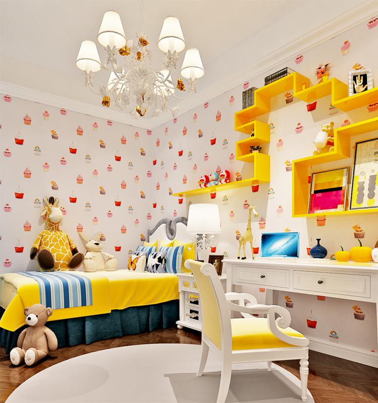 Kinderen behang ontwerpen koop goedkope kinderen behang ontwerpen loten van chinese kinderen - Wallpapers voor kamer ...