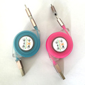 2 In 1 Micro Usb charger Cable charging Kablo 1M Charger Adapter Cabo Usb Cell Phone