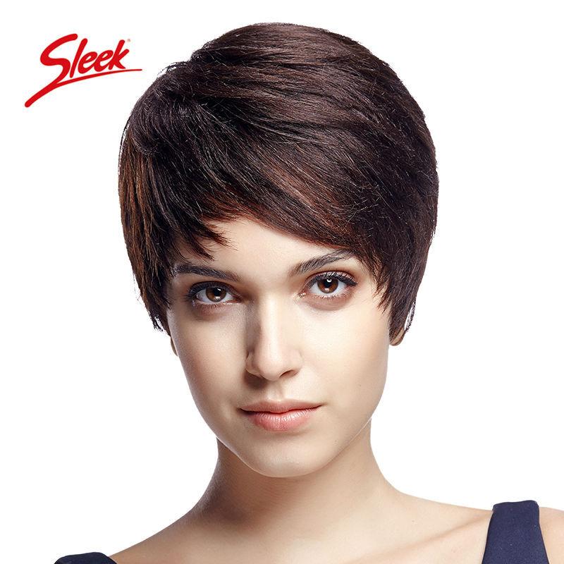 Natural Looking African American Human Hair Wigs