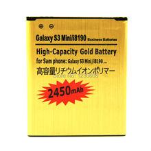 For Samsung Galaxy Ace2 Ace II S3mini s3 mini i8160 S Duos S7562 i8190 i669 s7568 s7566 s7572 i739 i759 battery 2450mah