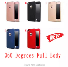 Buy 360 Degree Full Body Protection Soft TPU + PC Case Frame Front Back Iphone 7 Plus I7 6 6S Round Hole Phone Skin Cover 100pcs for $216.86 in AliExpress store