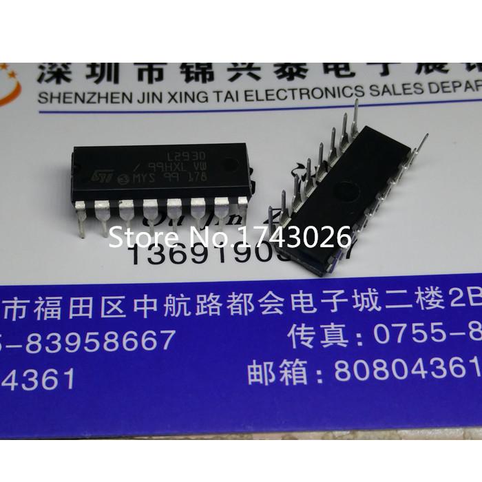 New original 5PCS L293 L293D DIP-16 Driver IC(China (Mainland))