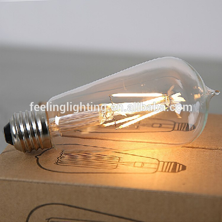Best selling cheap factory price E27 4w filament leb bulb 240 volts(China (Mainland))