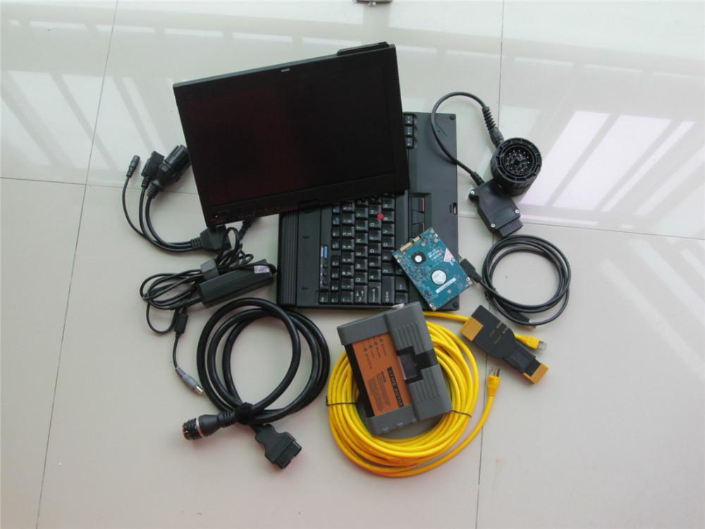 Новый для bmw диагностический инструмент для bmw icom а2 с x200 ноутбук + новое программное обеспечение v2015.12 родной установлен 500 ГБ готов к использованию