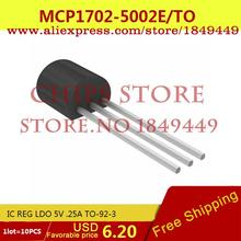 Integrated Circuit MCP1702-5002E/TO IC REG LDO 5V .25A TO-92-3 MCP1702-5002E 1702 MCP1702 1 - Chips Store store