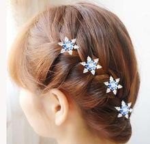 6pcs 2016 wedding hair accessories bridal accessories Aisha Snowflake hairpin plate made new tools screw clamp