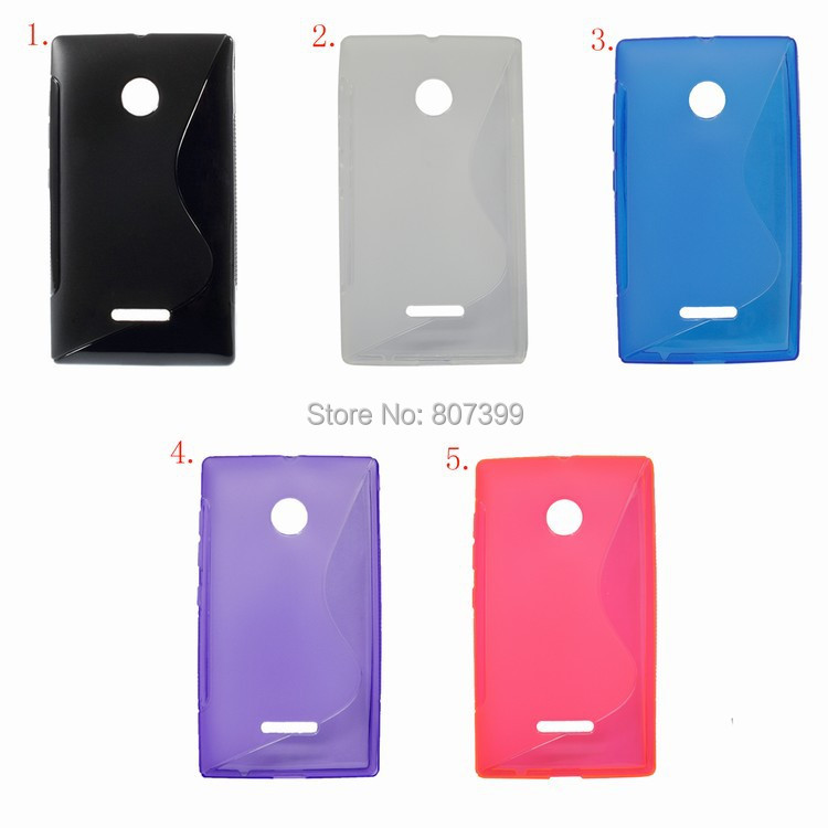TPU Flexible Cell Phone case covers for Microsoft nokia Lumia 532 435 capinha capa para coque Protector cover Accessories fundas(China (Mainland))