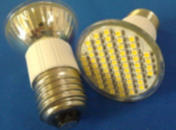 E27 SMD LED spotlight,60pcs 3528 SMD LED,3W