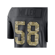 Men's Von Miller #58 Anthracite 2016 Salute to Service Jersey Free Shipping(China (Mainland))