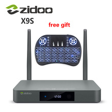 Buy Genuine ZIDOO X9S TV BOX Android 6.0 + OpenWRT, NAS Realtek RTD1295 2G/16G 802.11ac WIFI Bluetooth 1000M Media Player for $149.00 in AliExpress store