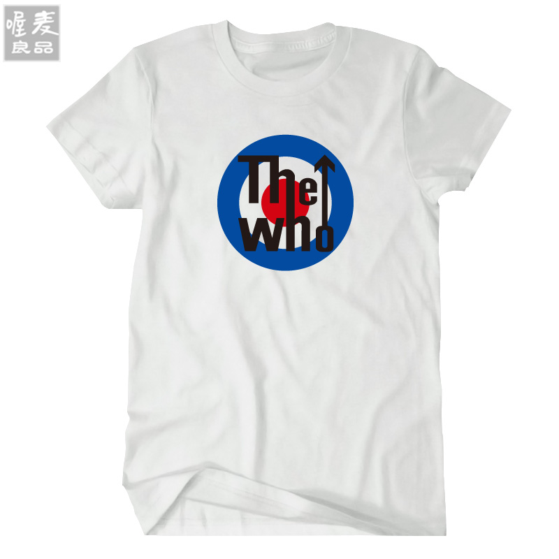 The Who band music rock and roll short-sleeve t-shirt summer homme tshirt freeshipping fashion(China (Mainland))
